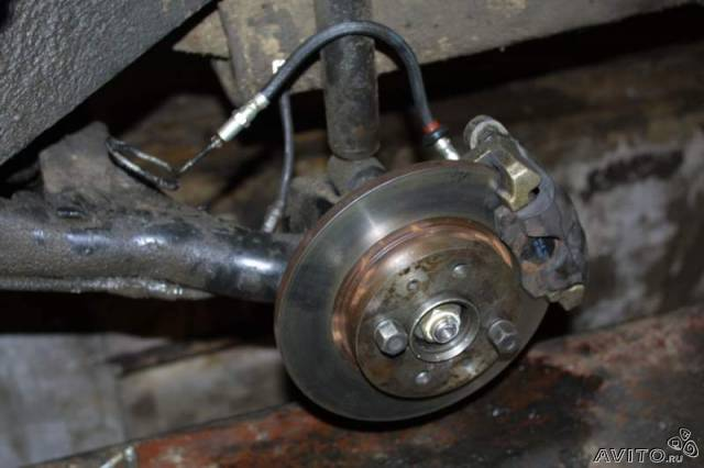 Задние дисковые тормоза своими руками 895