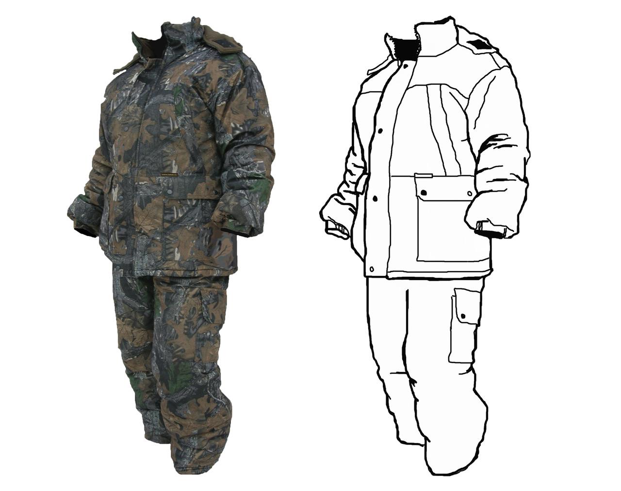 Одежда Для Рыбалки И Охоты Больших Размеров